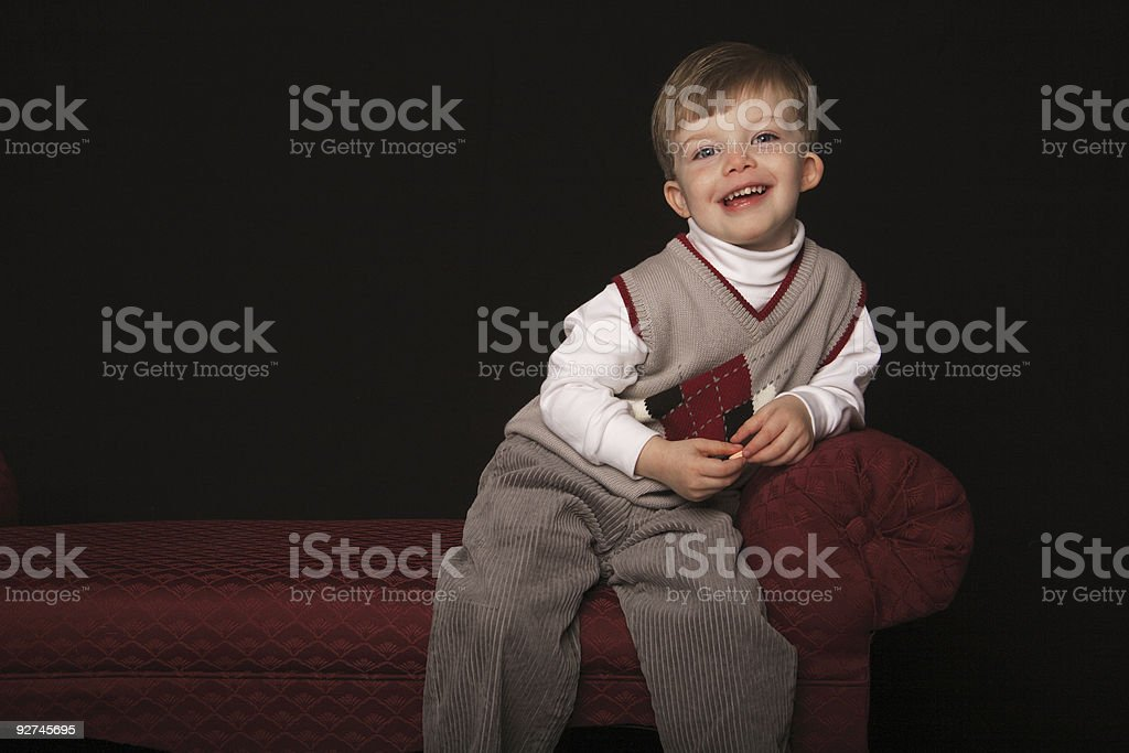Little man. royalty-free stock photo