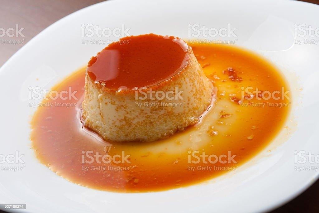 Little Milk Pudding stock photo