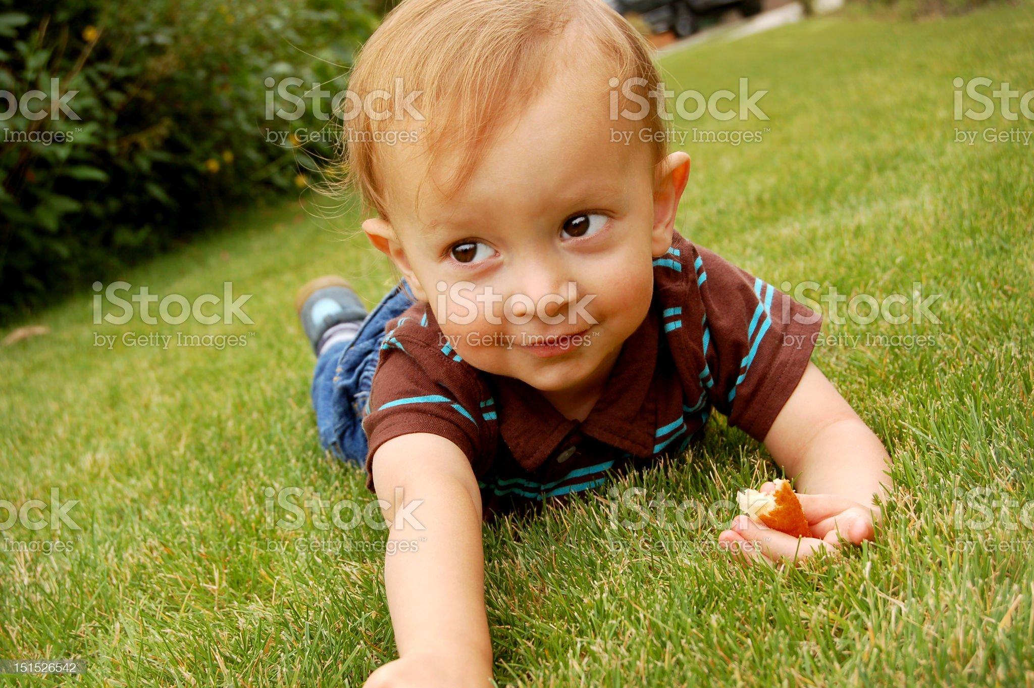 Little Mischief royalty-free stock photo