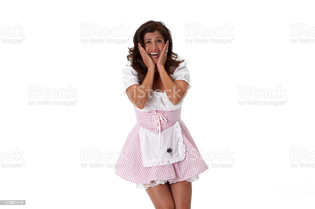 Little Miss Muffet oh my! royalty-free stock photo
