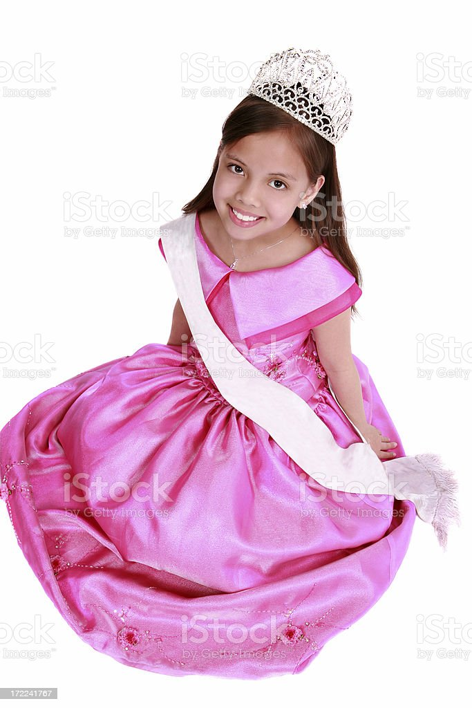 Little Miss royalty-free stock photo