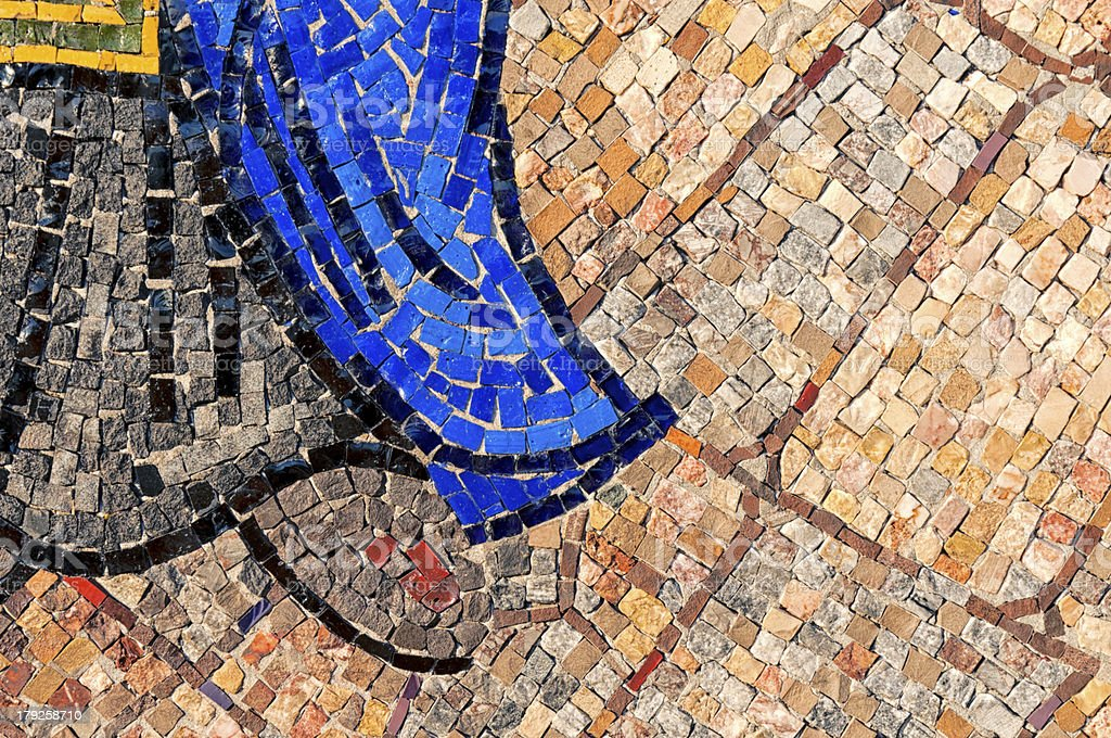 Little mosaic royalty-free stock photo