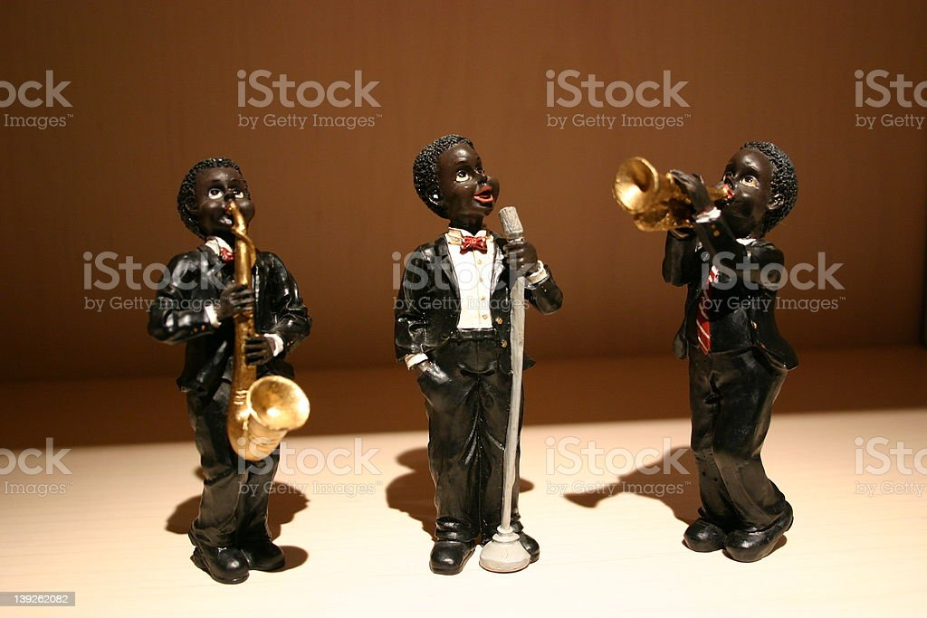Little musicians royalty-free stock photo