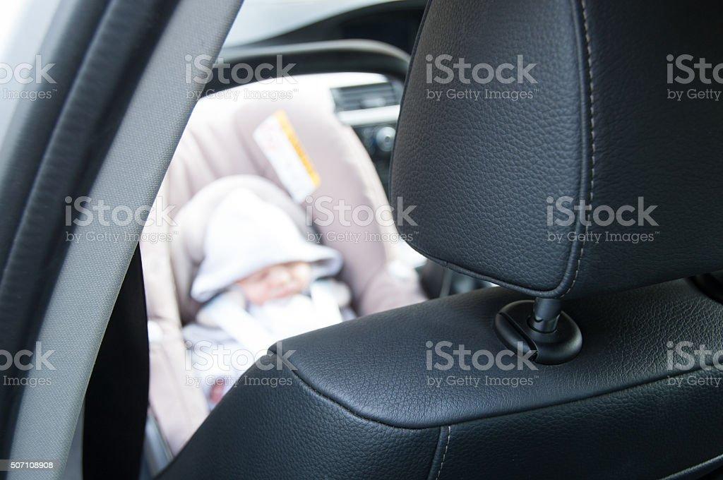 Little passenger stock photo