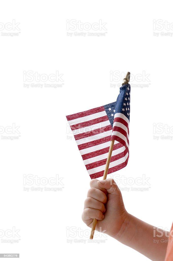 Little Patriot stock photo
