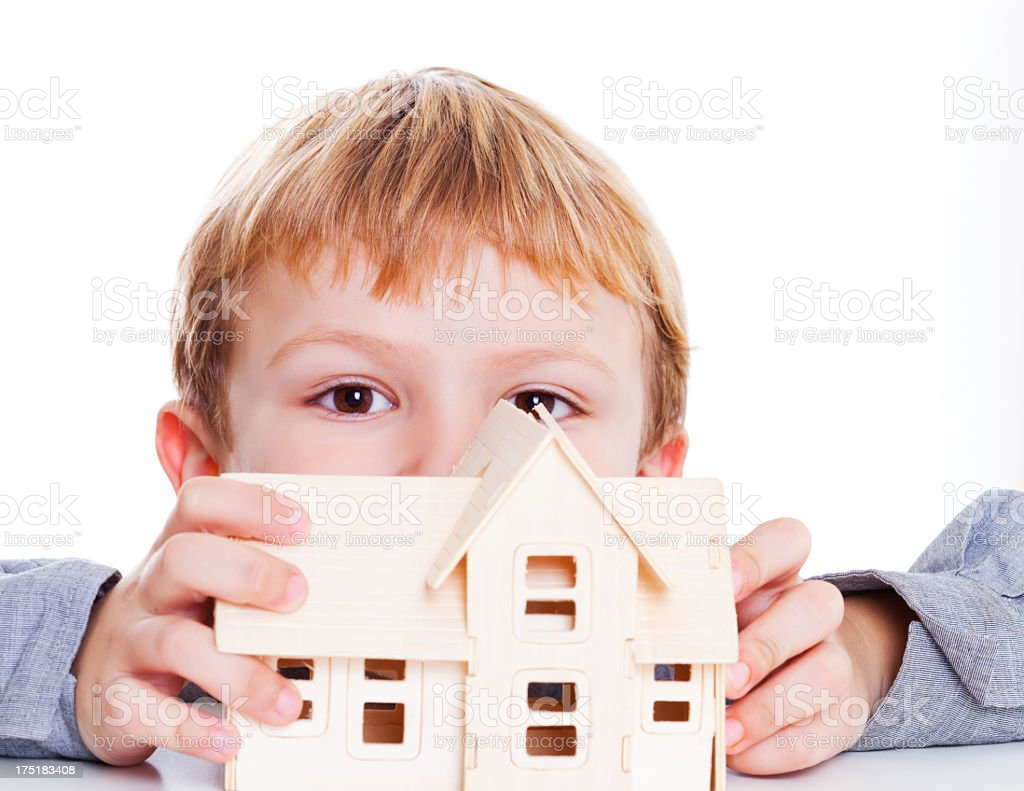 Little People Big Dreams royalty-free stock photo
