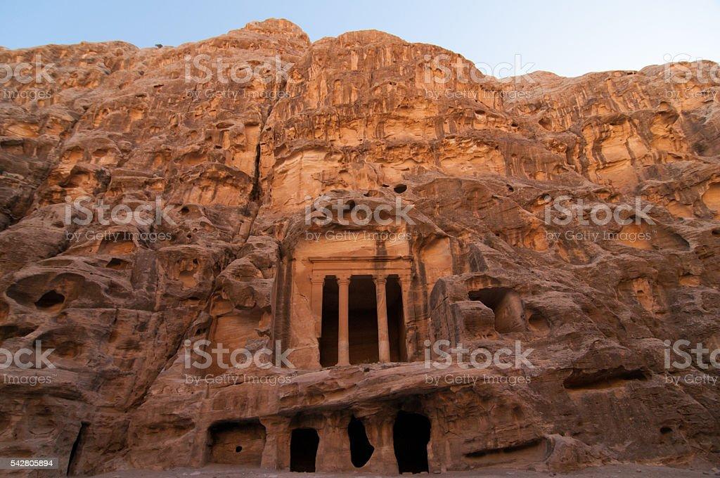 Little Petra, Jordan stock photo