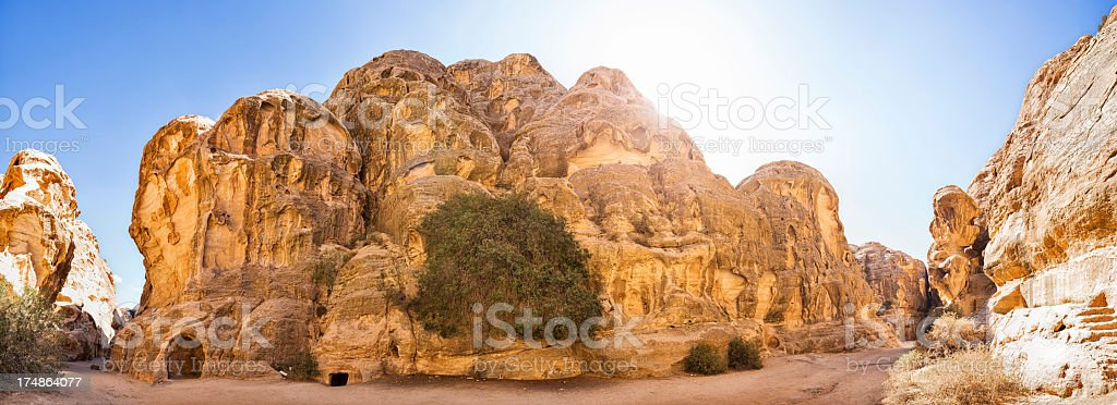 Little Petra / Siq al-Barid - Jordan stock photo