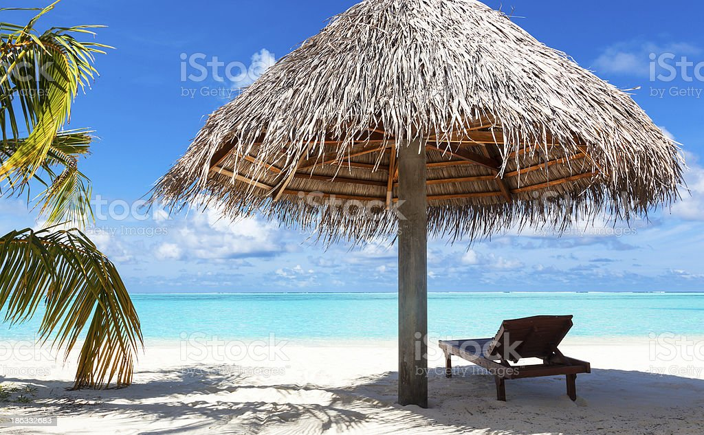little piece of heaven on earth royalty-free stock photo