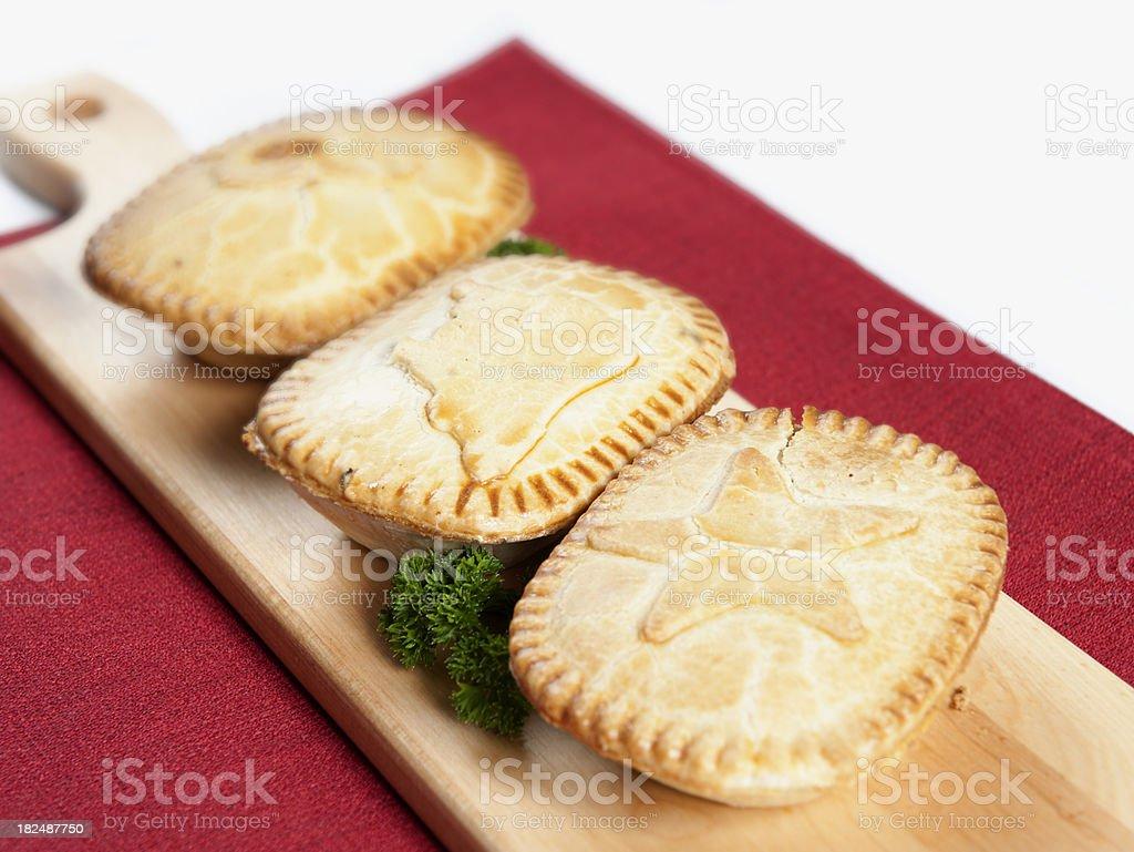Little Pies stock photo