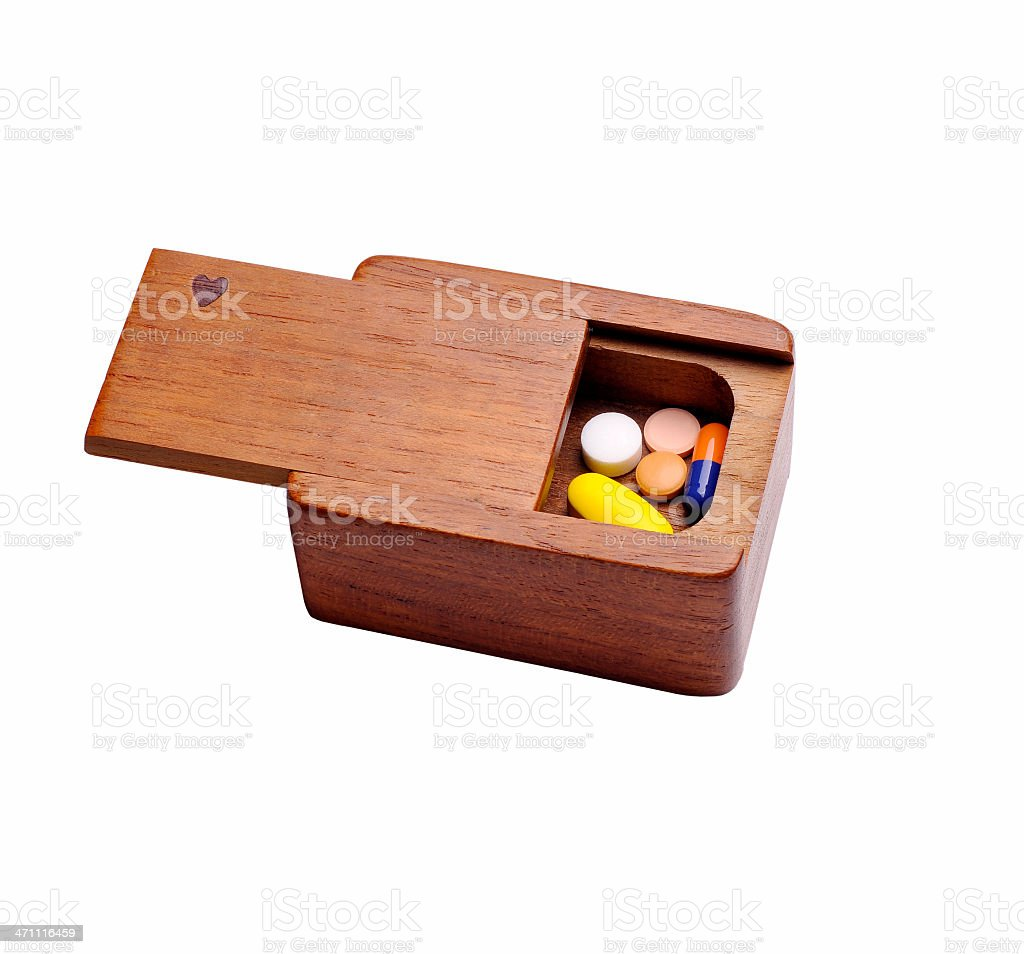 Little pillbox royalty-free stock photo