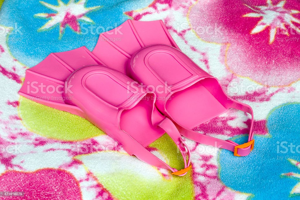 Mały różowy płetwy zbiór zdjęć royalty-free