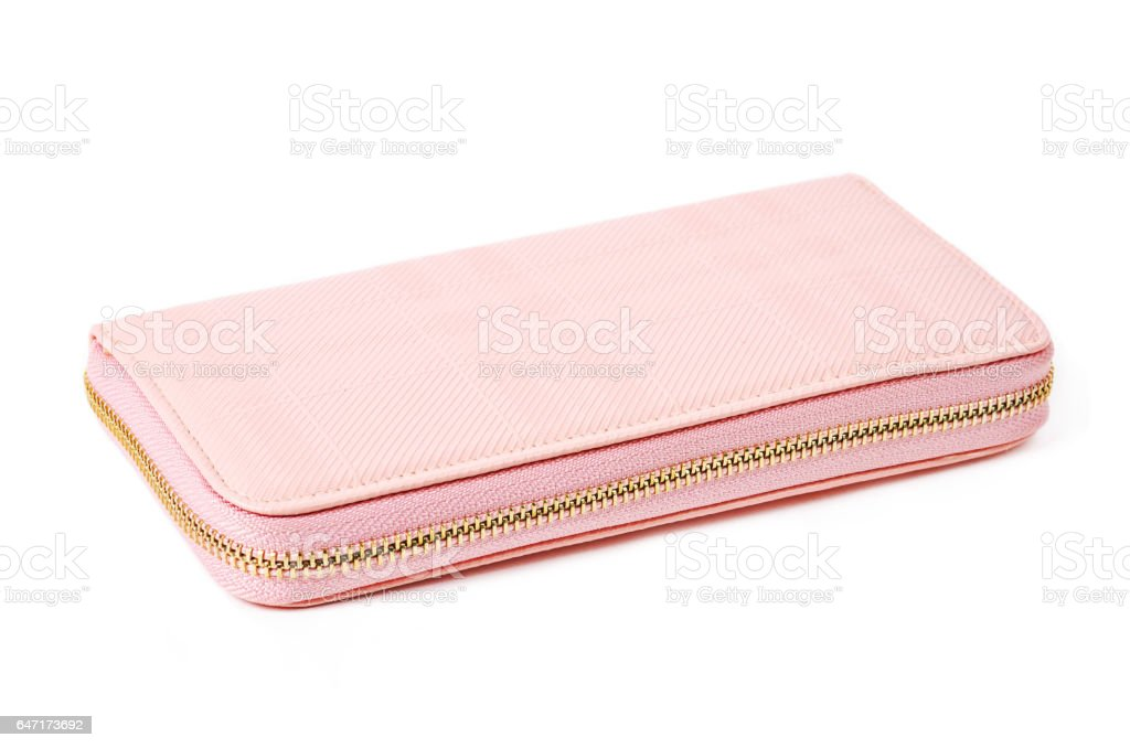little pink purse stock photo