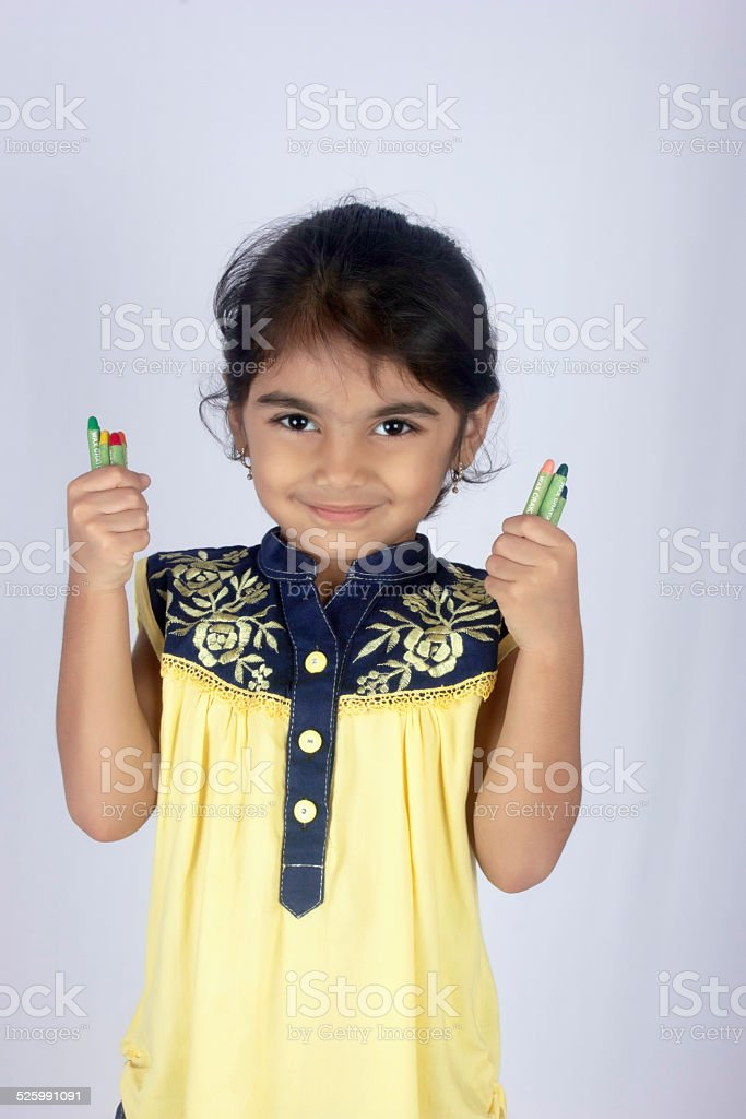 Little Princess Girl stock photo