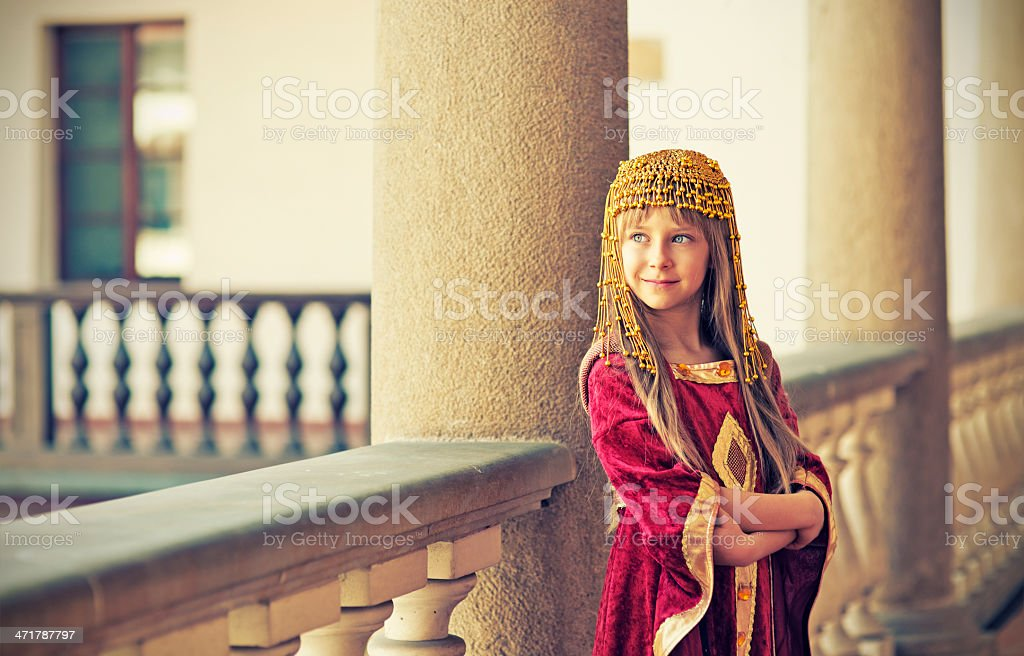 Little princess royalty-free stock photo