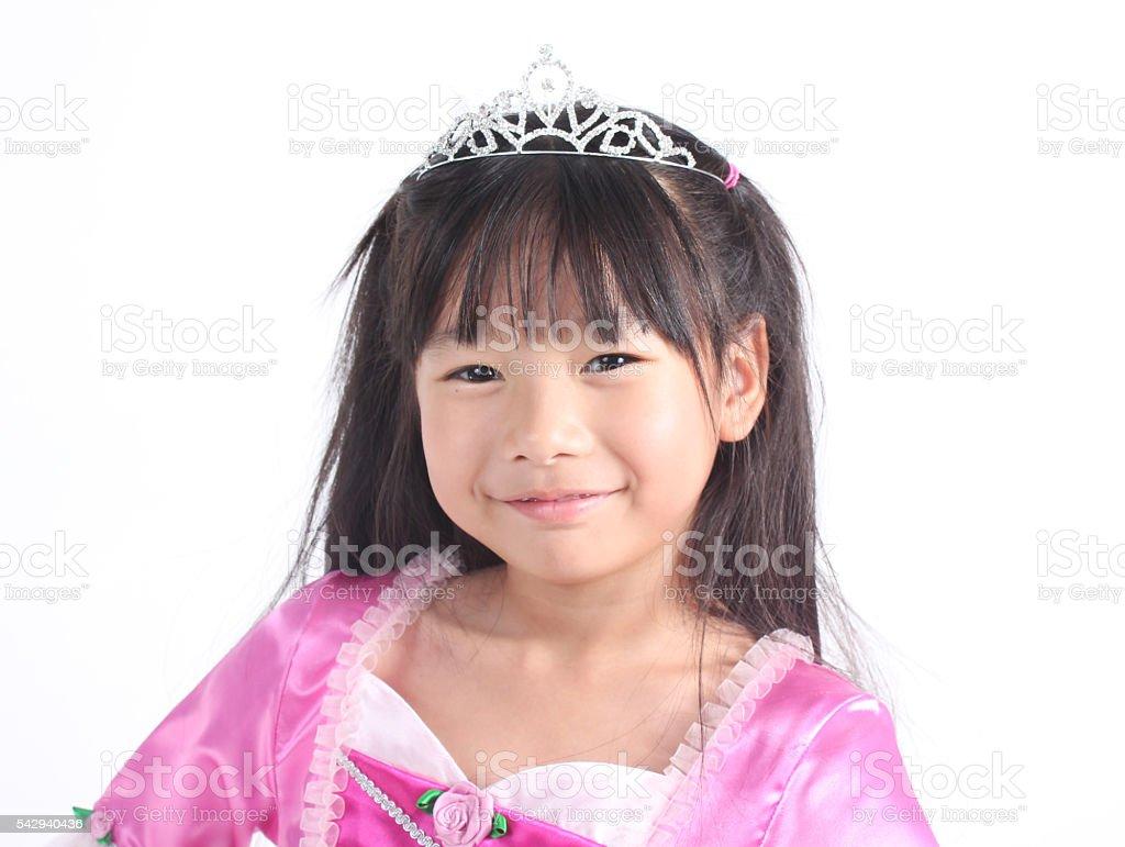 Kleine Prinzessin  Lizenzfreies stock-foto