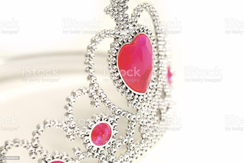 Little princess tiara royalty-free stock photo