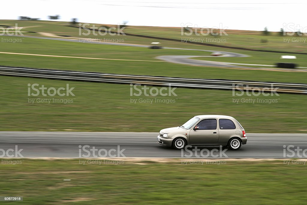 Little race car stock photo