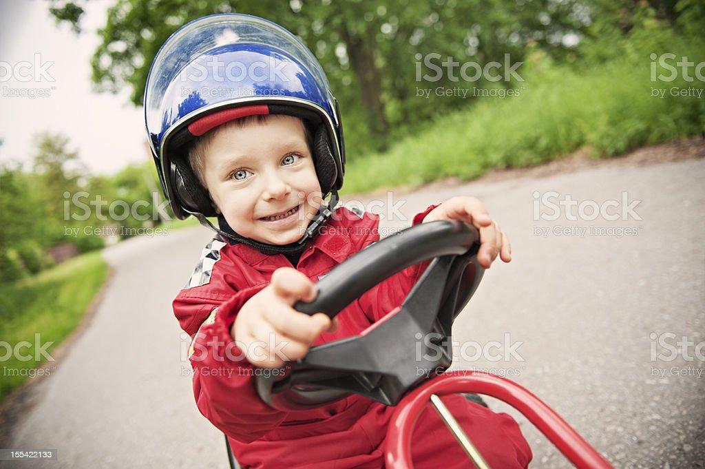 Little racer stock photo