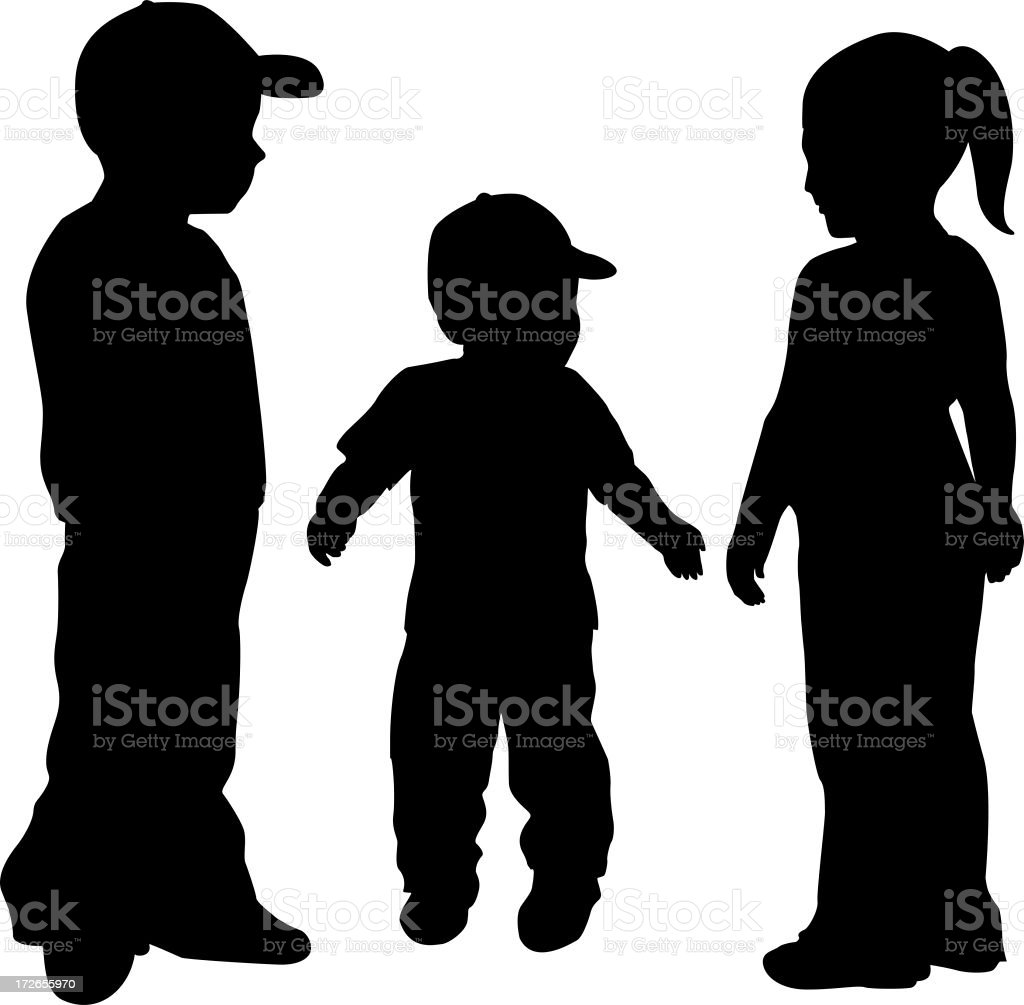 Little Rascals royalty-free stock photo