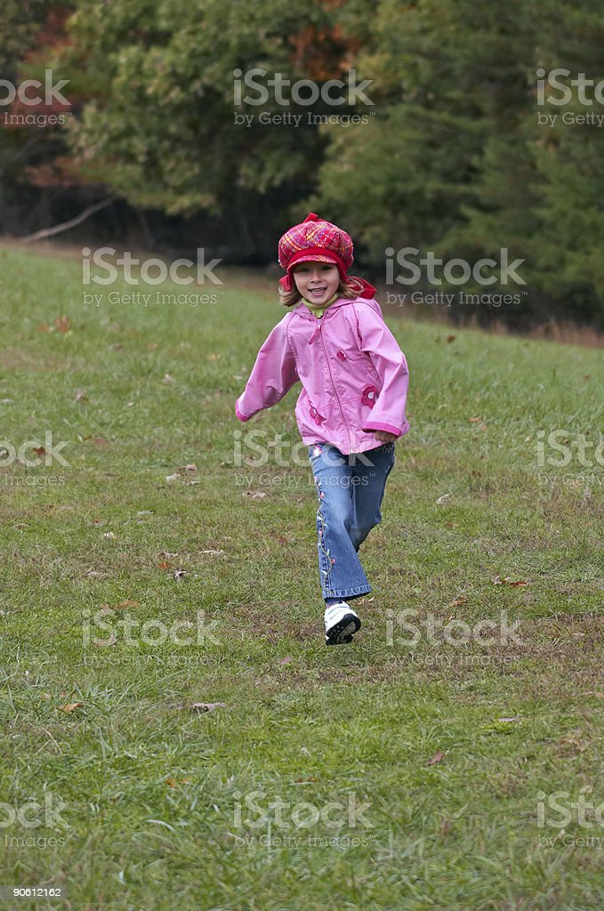 Little Red Hood royalty-free stock photo