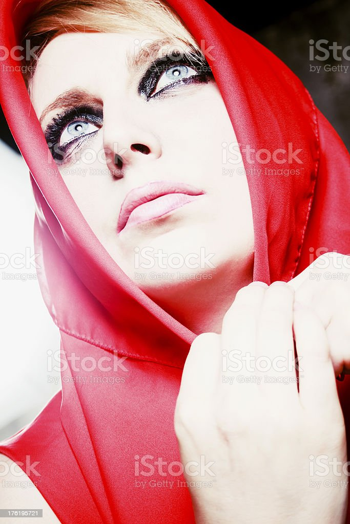 Little Red Riding Hood royalty-free stock photo