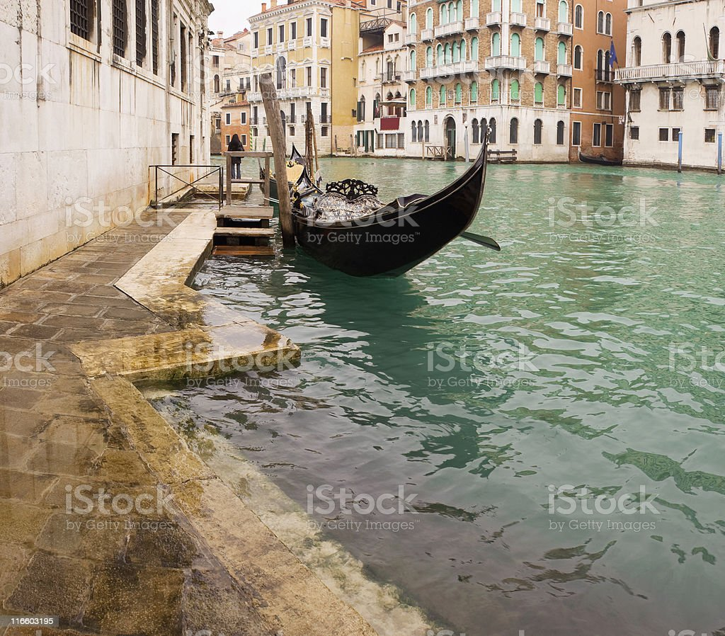 Little row boat. royalty-free stock photo