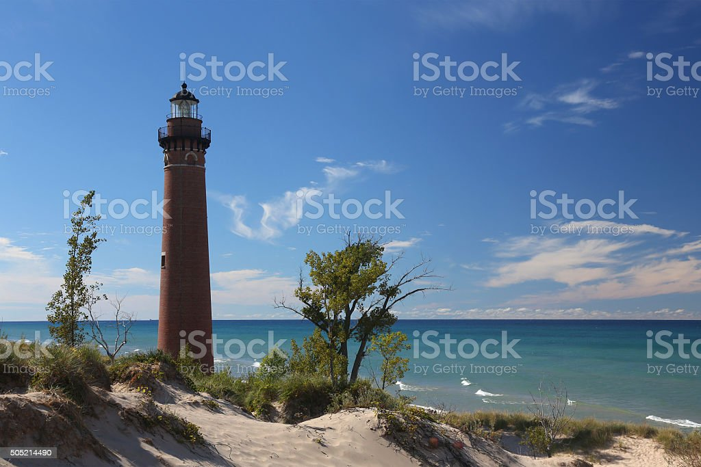 Little Sable Lighthouse stock photo