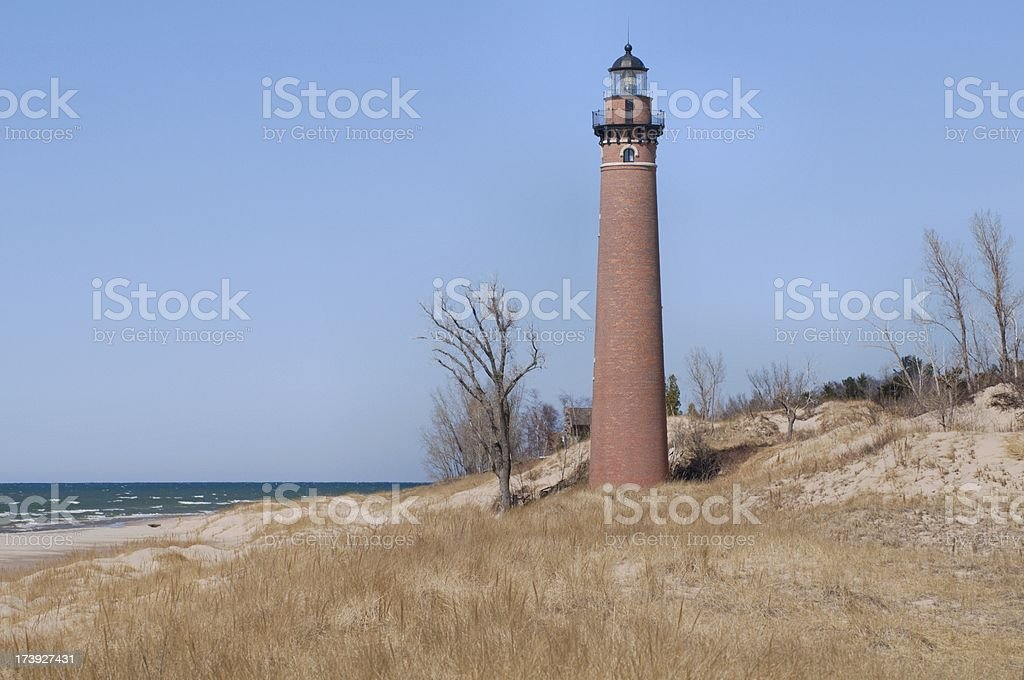Little Sable Point Lighthouse royalty-free stock photo