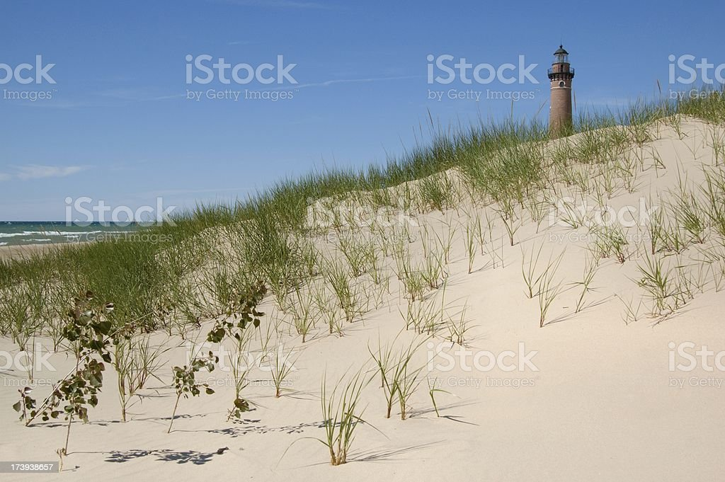 Little Sable Point stock photo