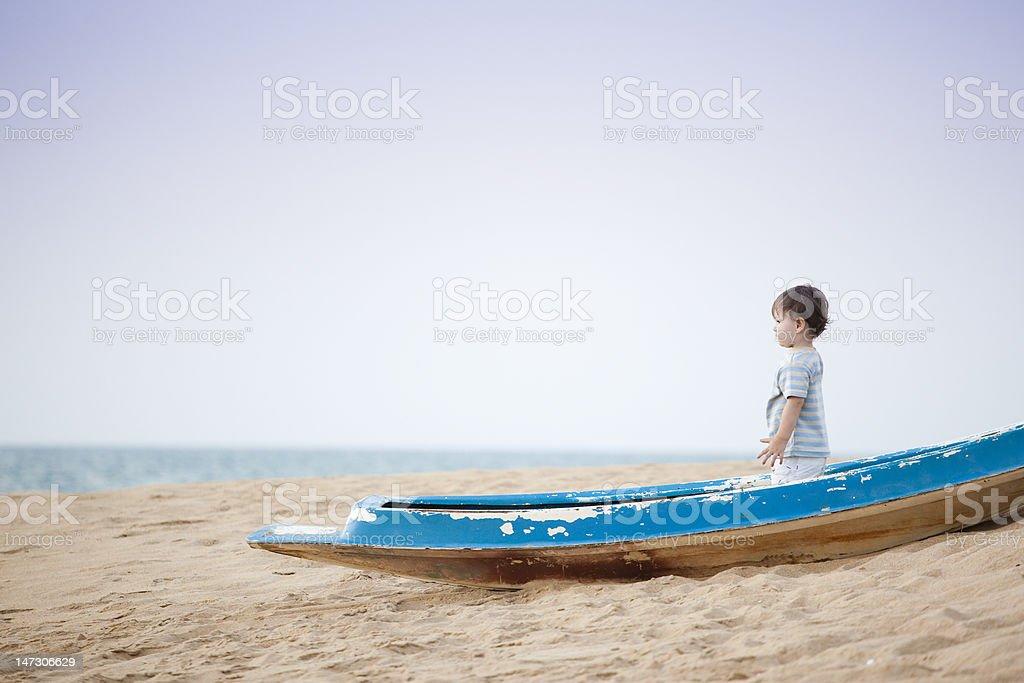 little sailor royalty-free stock photo