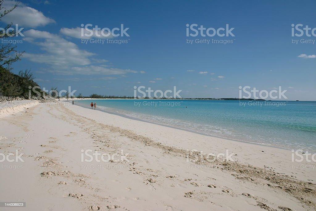 Little San Salvador Island stock photo