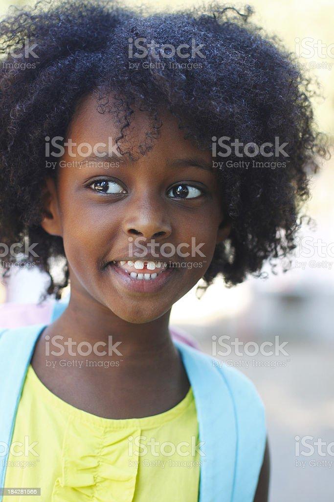 Little School Girl royalty-free stock photo