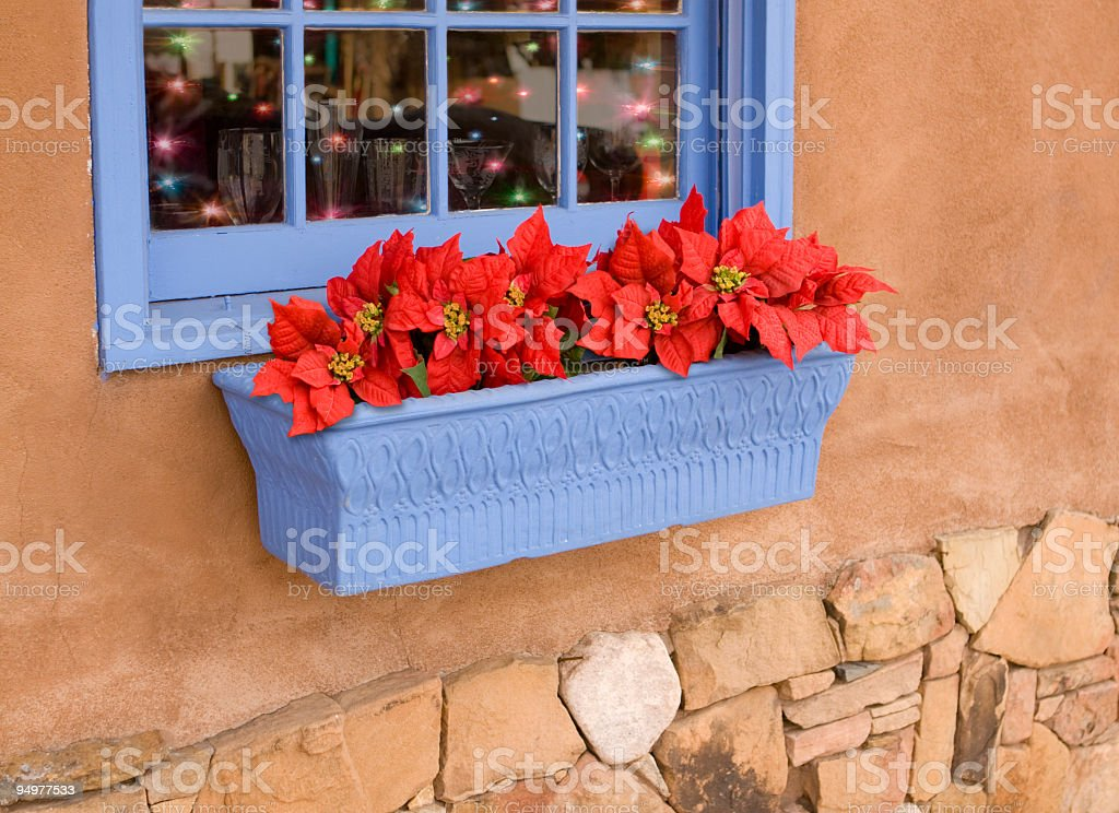 Little Shop Window at Christmas royalty-free stock photo