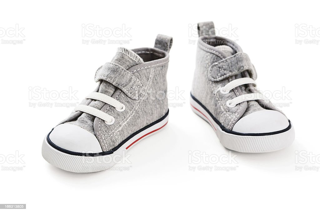 Little Sneakers royalty-free stock photo