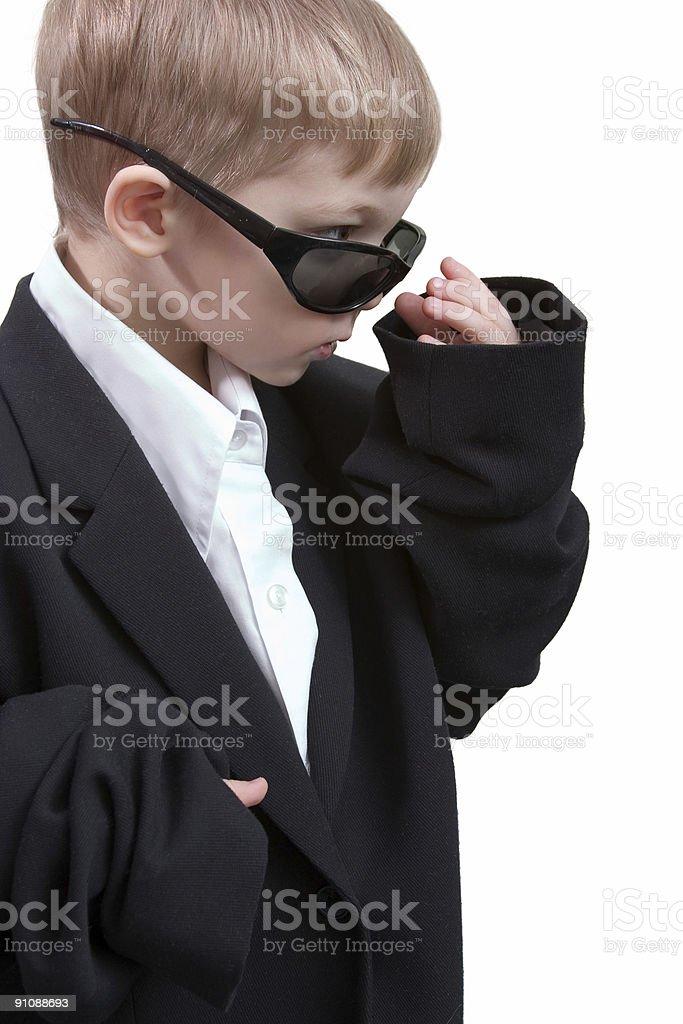 little spy royalty-free stock photo