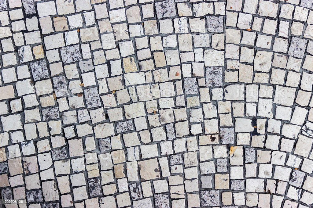 Little square stone pavement - Rectangular and Small Square. Seamless...