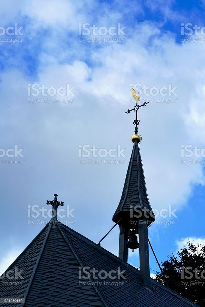 little steeple in Amersfoort stock photo