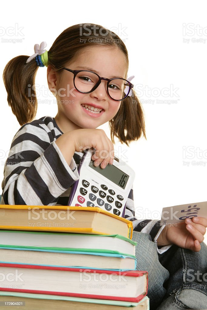 little student royalty-free stock photo