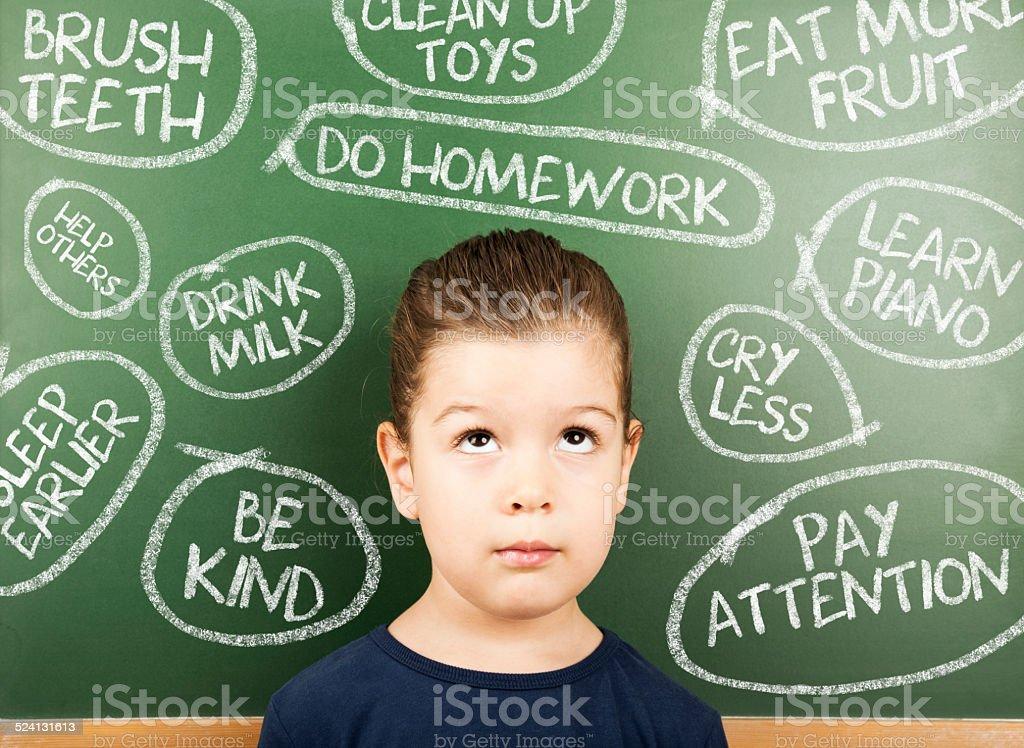 little student stock photo