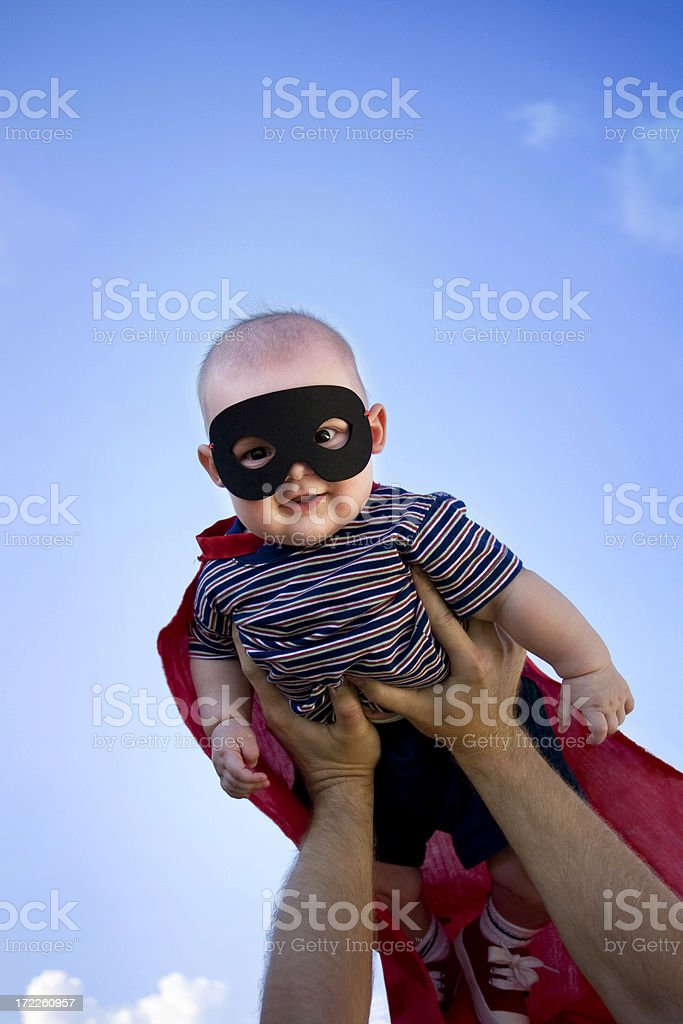 Little Super Hero stock photo