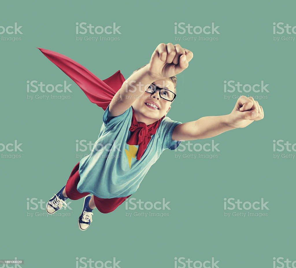 Little Superhero royalty-free stock photo