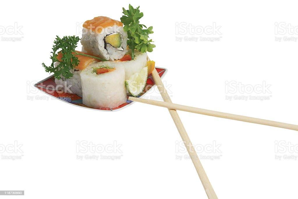 little sushi royalty-free stock photo