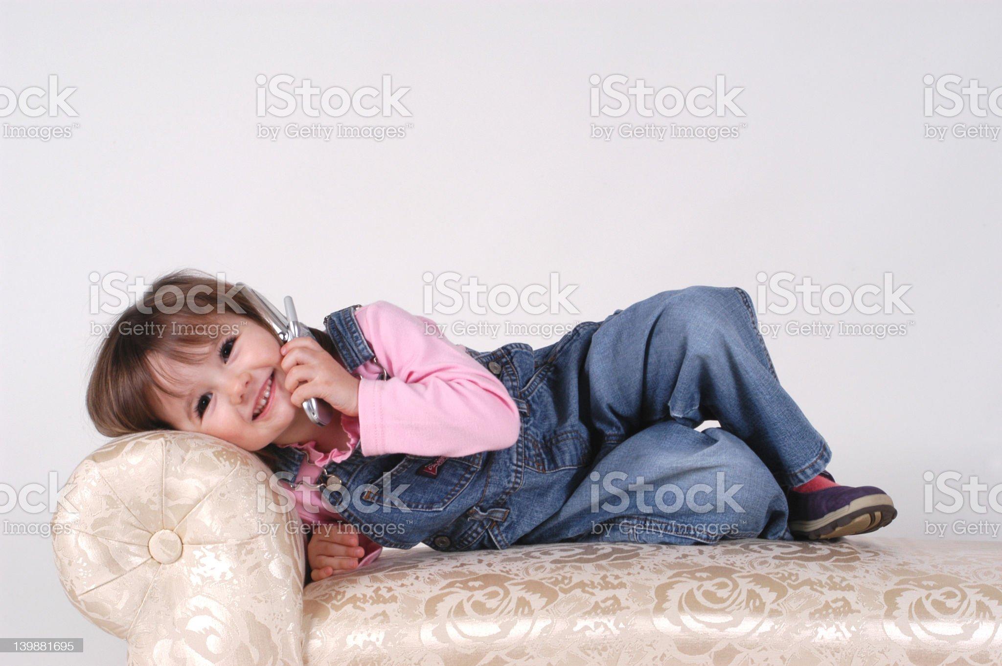 Little Talker royalty-free stock photo