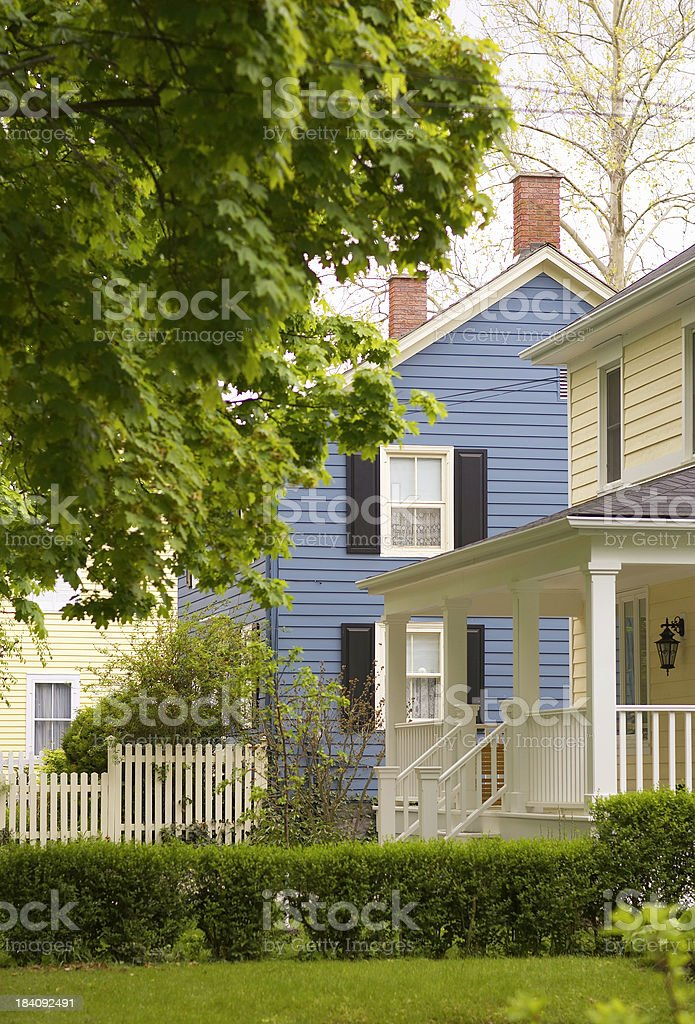 Little town, any state royalty-free stock photo