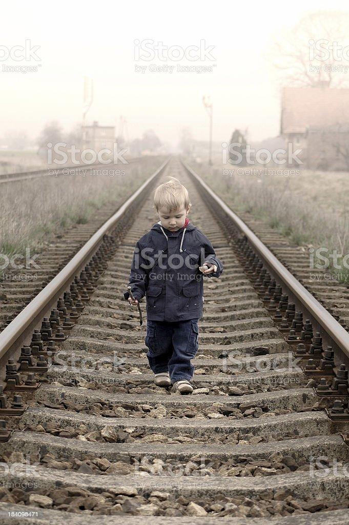 little train royalty-free stock photo