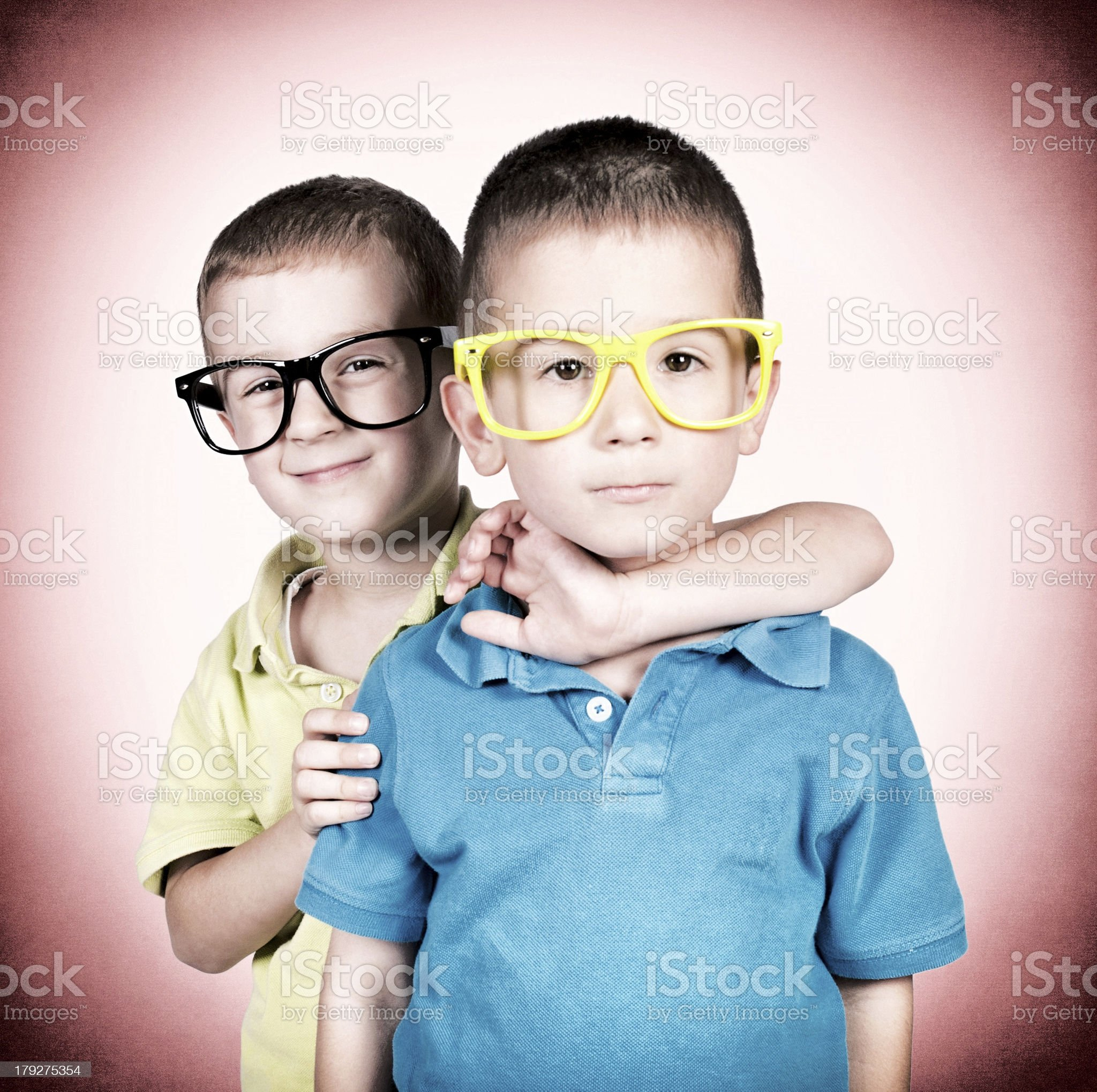 Little twins royalty-free stock photo