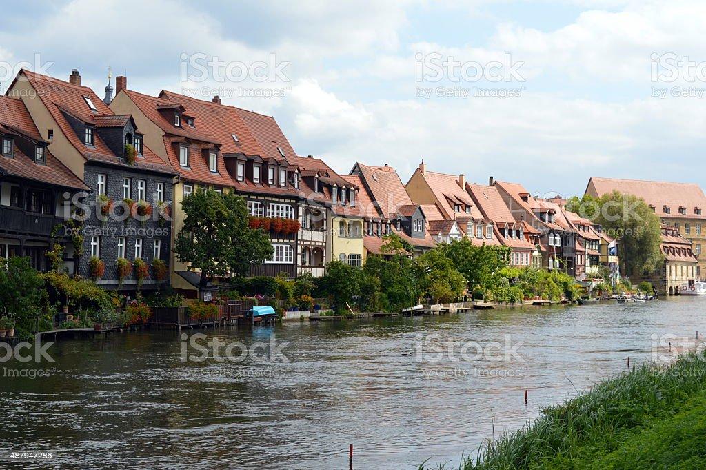 Little Venice, Bamberg stock photo