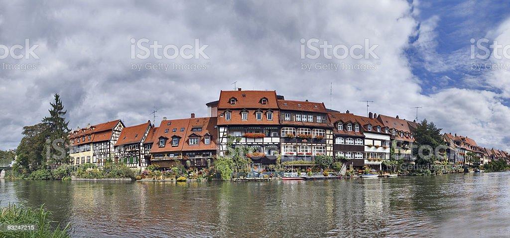 Little Venice in Bamberg stock photo
