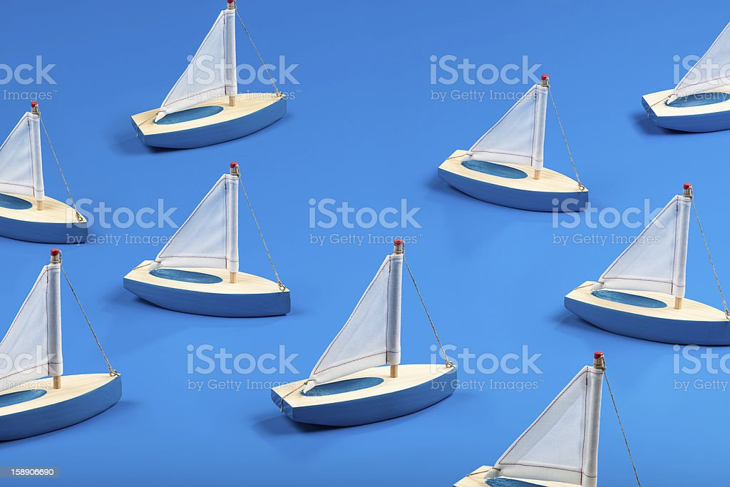 Little Vessels royalty-free stock photo